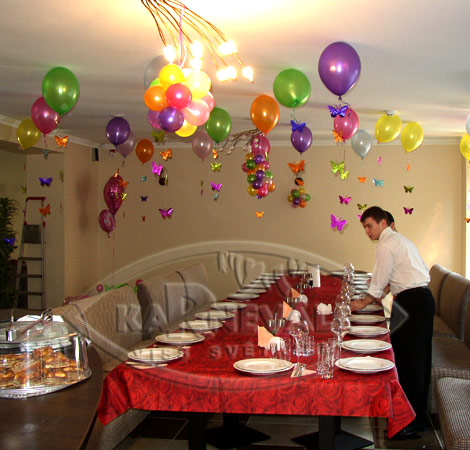 Kid 39 s birthday party balloon decoration page 3 for Balloon decoration for kids party